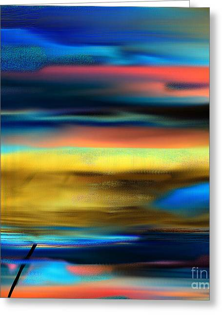 Sunset Framed Prints Greeting Cards - Tell Me Tomorrow  Greeting Card by Yul Olaivar