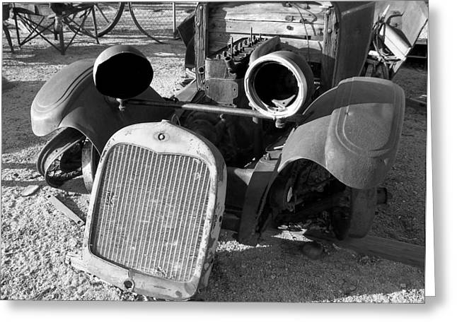 Rusted Cars Greeting Cards - Tell Me You Are Kidding Greeting Card by Glenn McCarthy Art and Photography