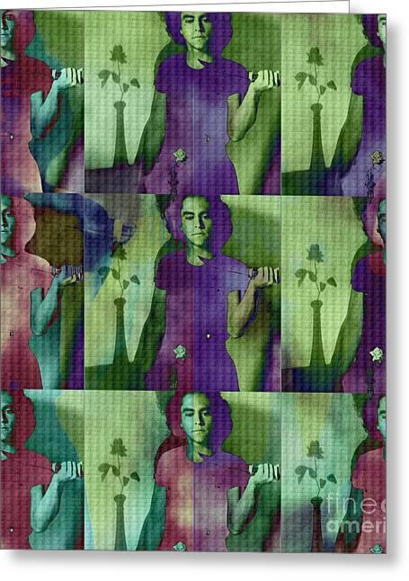Mystifying Greeting Cards - Teller / Early Shadows x9 Greeting Card by Elizabeth McTaggart