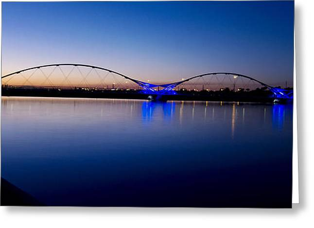 Big Blue Marble Greeting Cards - Tempe Town Lake Greeting Card by Kelly Gibson