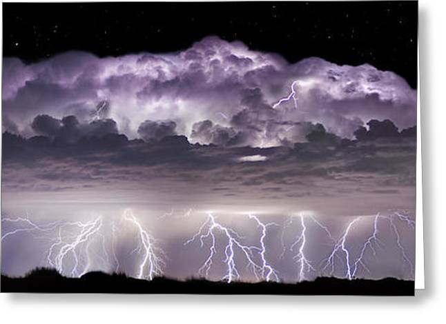 Storm Chasing Greeting Cards - Tempest - CraigBill.com - Open Edition Greeting Card by Craig Bill
