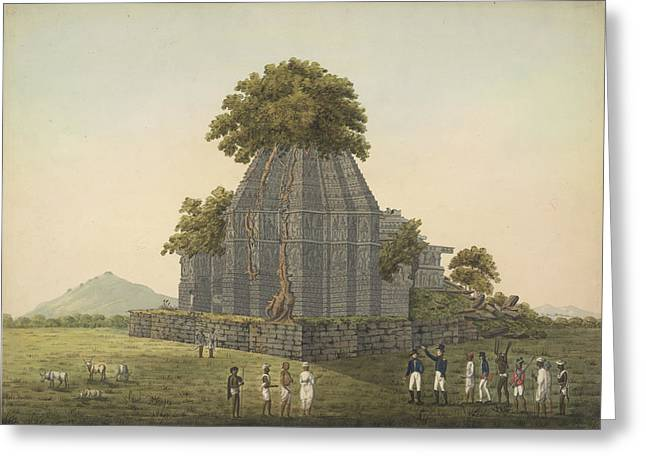 Temple Ruins Greeting Card by British Library
