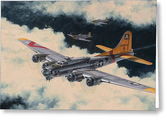 94th Fighter Squadron Greeting Cards - Temporary Reprieve Greeting Card by Wade Meyers