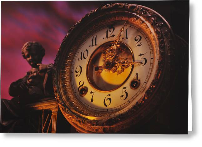 Warp Greeting Cards - Tempus Fugit Greeting Card by Don Wolf