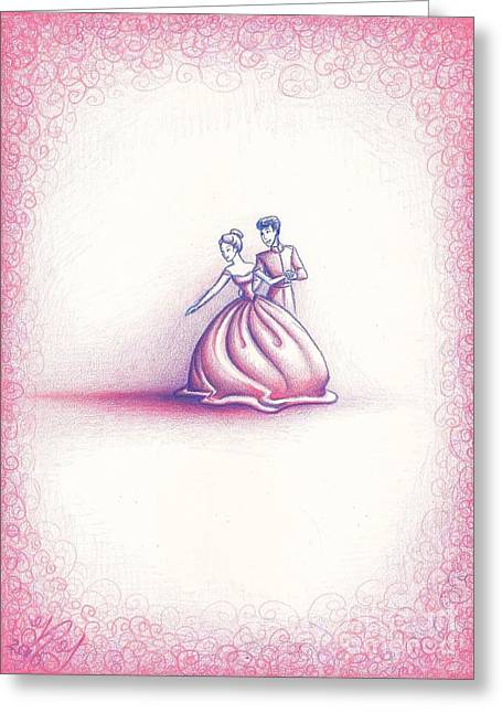 Ten Minutes Ago Greeting Card by Kendra Tharaldsen-Franklin