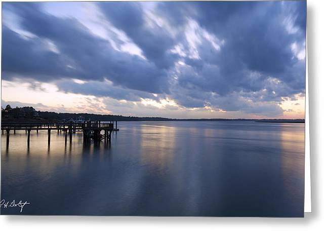 Beaufort County Greeting Cards - Ten Seconds On The River Greeting Card by Phill  Doherty