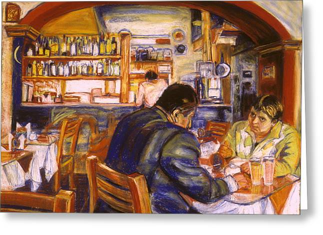 Bar San Miguel Greeting Cards - San Miguel De Allende Ten Ten Pie Greeting Card by Pamela Fox