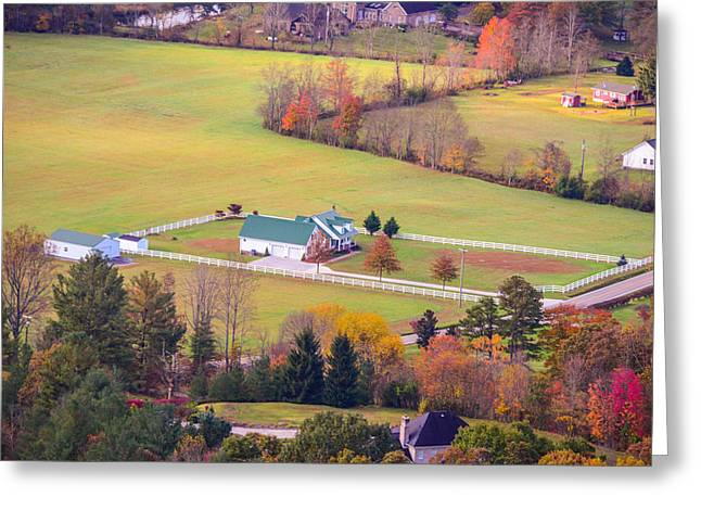 Tennessee Barn Greeting Cards - Tennessee Country Greeting Card by Mary Timman
