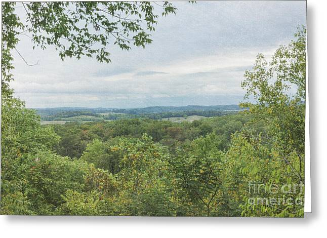 Gatlinburg Tennessee Greeting Cards - Tennessee Mountains Greeting Card by Kay Pickens