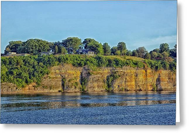 Tennessee Landmark Greeting Cards - Tennessee River Cliffs Greeting Card by Mountain Dreams