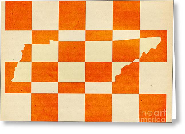 Tennessee Greeting Card by Scott Karan