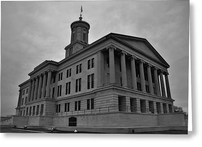 Tennessee State Capitol Building Greeting Card by Steven Richman