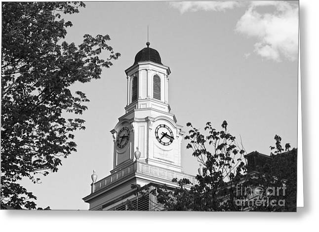 Liberal Greeting Cards - Tennessee Tech University Derryberry Hall Greeting Card by University Icons