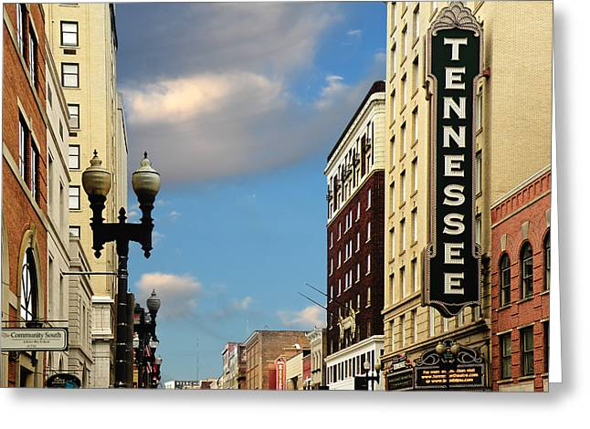 Recently Sold -  - Purchase Greeting Cards - Tennessee Theatre Greeting Card by Steven  Michael