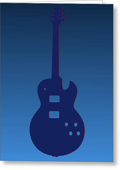 Concert Bands Photographs Greeting Cards - Tennessee Titans Guitar Greeting Card by Joe Hamilton