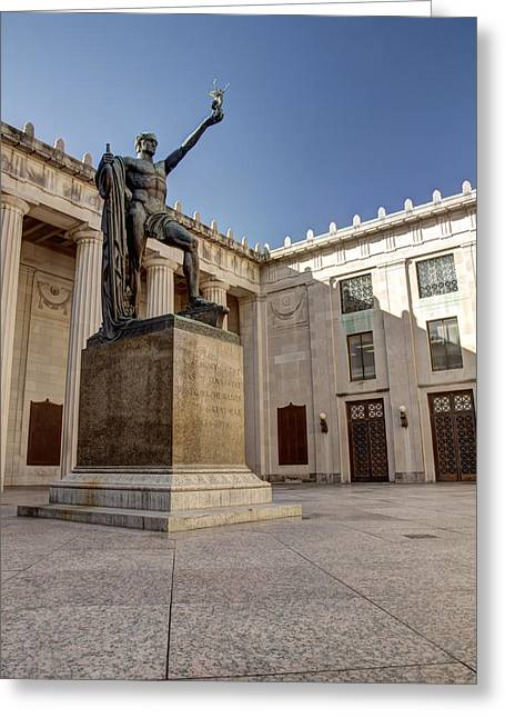 Nike Photographs Greeting Cards - Tennessee War Memorial Greeting Card by Joshua House
