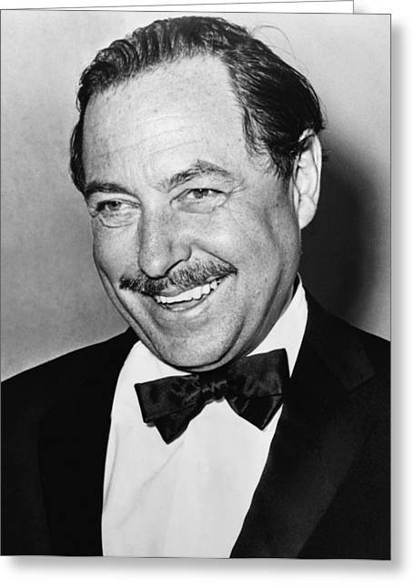 Vip Greeting Cards - Tennessee Williams Greeting Card by Mountain Dreams