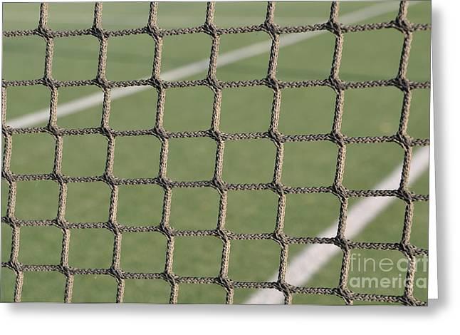 Tennis net Greeting Card by Luis Alvarenga