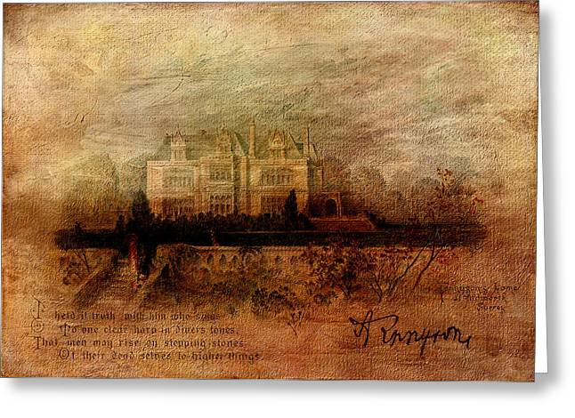 In Memoriam Greeting Cards - Tennysons Manor Greeting Card by Sarah Vernon