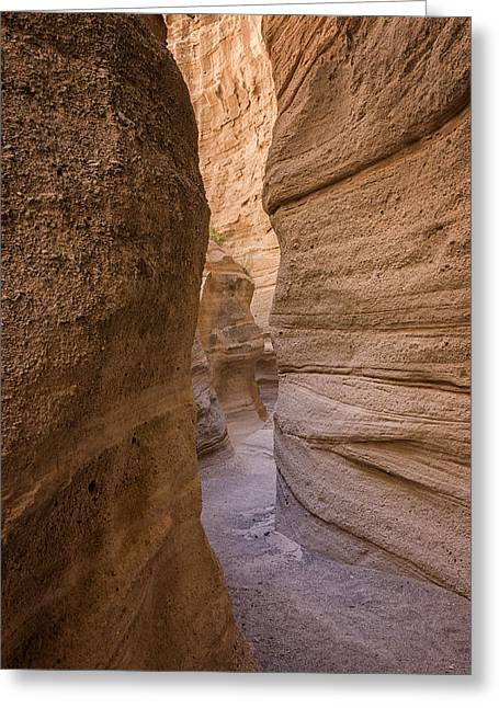 Pueblo Greeting Cards - Tent Rocks Canyon National Monument 3 - Santa Fe New Mexico Greeting Card by Brian Harig