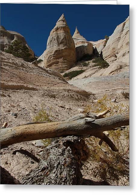 Kasha Katuwe Tent Rocks Greeting Cards - Tent Rocks Greeting Card by Ellen and Udo Klinkel