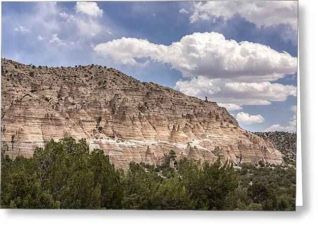 Northern New Mexico Greeting Cards - Tent Rocks National Monument 1 - Santa Fe New Mexico Greeting Card by Brian Harig
