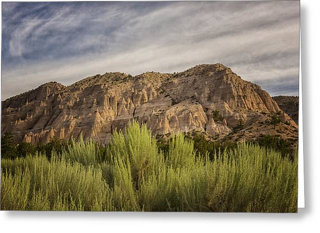 Northern New Mexico Greeting Cards - Tent Rocks National Monument 2 - Santa Fe New Mexico Greeting Card by Brian Harig