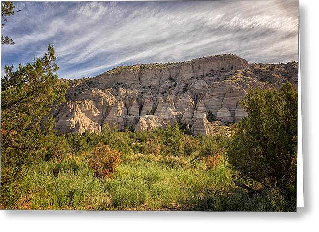 Tent Rocks National Monument 3 - Santa Fe New Mexico Greeting Card by Brian Harig