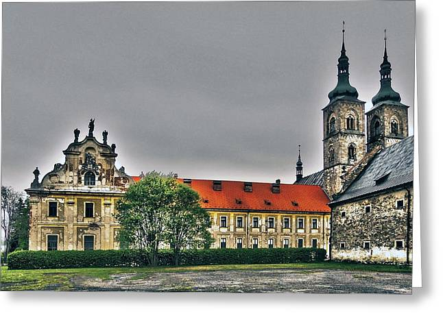 Architektur Greeting Cards - Tepla Monastery - Czech Republic Greeting Card by Juergen Weiss