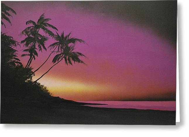 Tequilasunrise Greeting Card by DC Decker