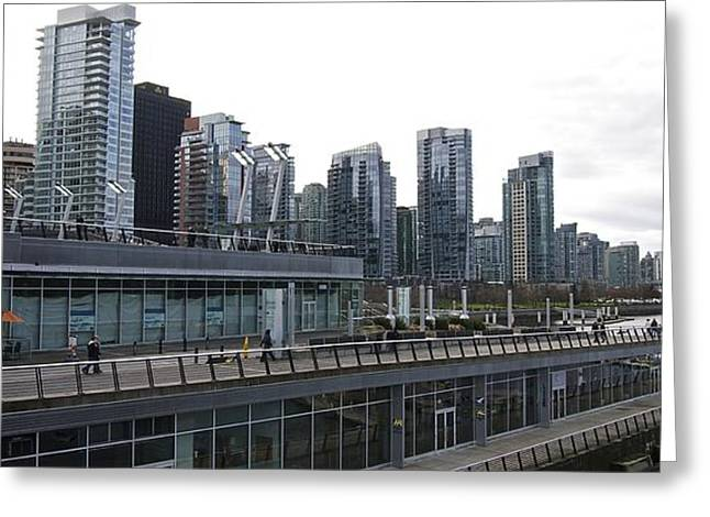 Vancouver Greeting Cards - Terminal Greeting Card by Travis Crockart