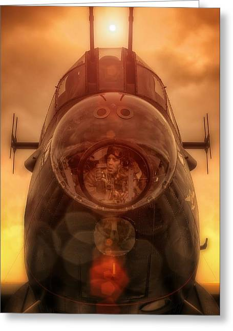 Fighter-bomber Photographs Greeting Cards - Terra Firma Greeting Card by Jason Green