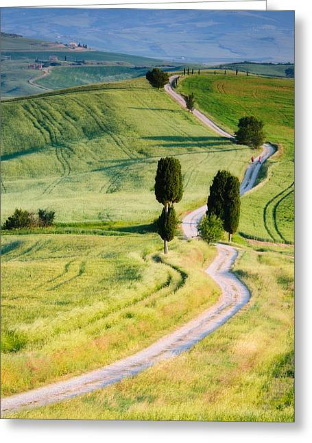 Tuscan Hills Photographs Greeting Cards - Terrapille Farm Greeting Card by Michael Blanchette