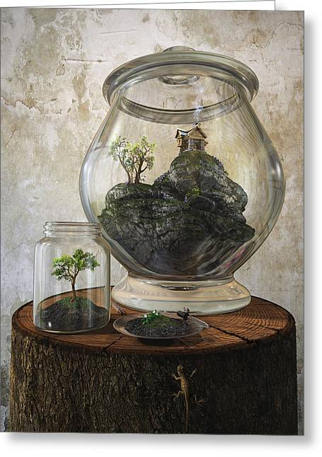Creating Greeting Cards - Terrarium Greeting Card by Cynthia Decker
