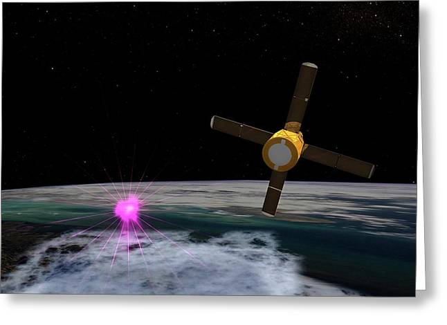 Terrestrial Gamma-ray Flash Greeting Card by Nasa
