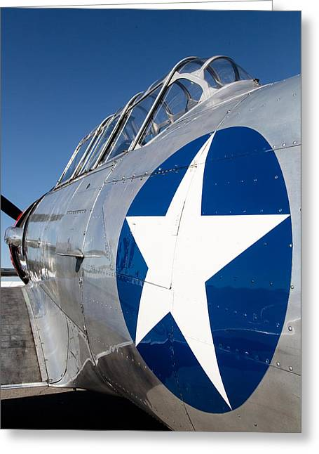 Planes Of Fame Greeting Cards - Texan Lone Star Greeting Card by John Daly