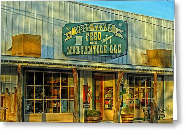 Hardware Greeting Cards - Texas Commerce Greeting Card by Mountain Dreams