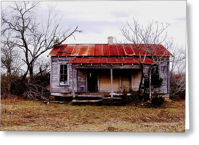 Texas Duplex Greeting Card by James Granberry