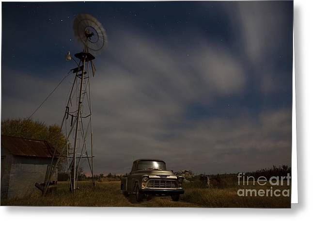 Rusty Pickup Truck Greeting Cards - Texas Farm II Greeting Card by Keith Kapple