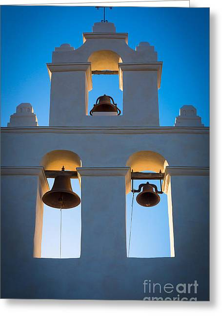 Tourists Greeting Cards - Texas Mission Greeting Card by Inge Johnsson