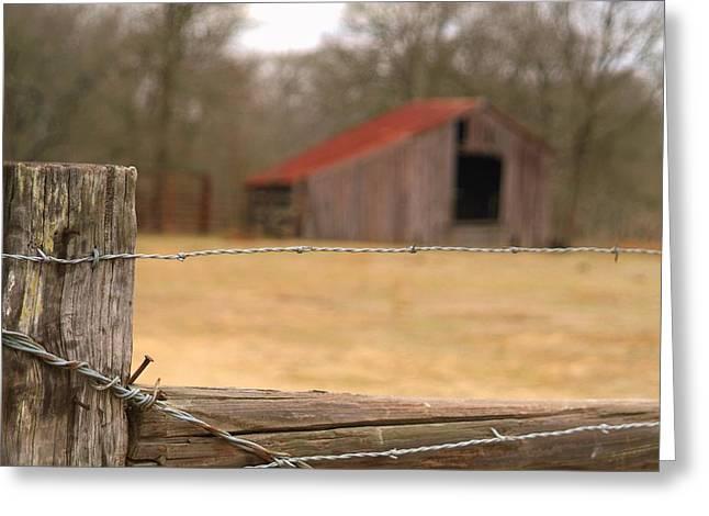 Texas scene.. Greeting Card by AL  SWASEY