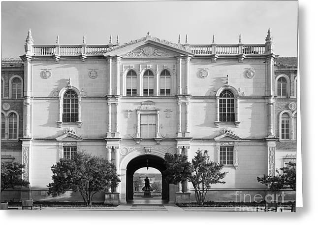 Occasion Greeting Cards - Texas Tech University Administration Building Greeting Card by University Icons