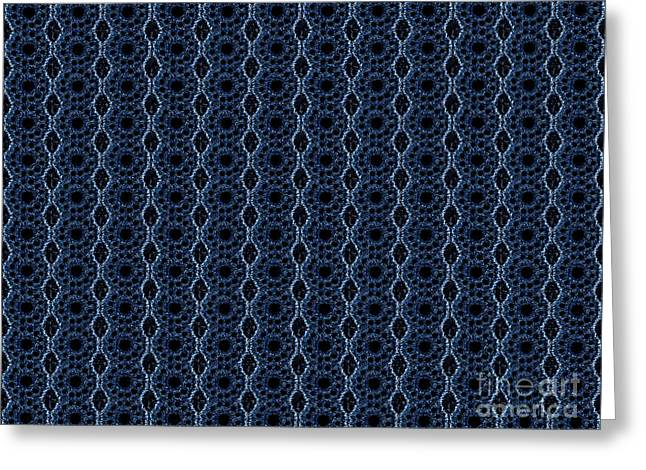 Textile Photographs Digital Greeting Cards - Textile Greeting Card by Sparkey