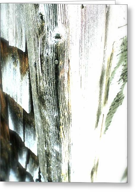Old Maine Barns Greeting Cards - Texture 2 Greeting Card by Patrick Macdonald