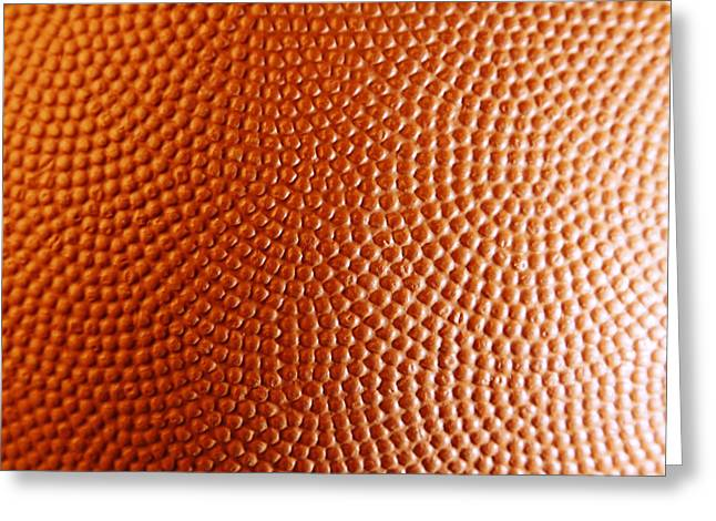 Basketballs Greeting Cards - Texture Greeting Card by Les Cunliffe