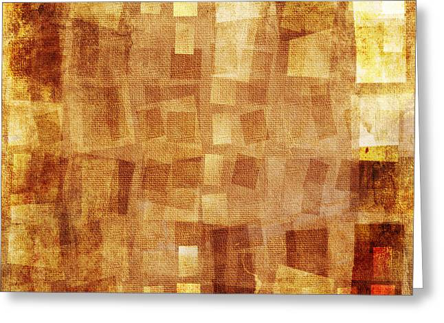 Abstract Images Mixed Media Greeting Cards - Textured background Greeting Card by Jelena Jovanovic