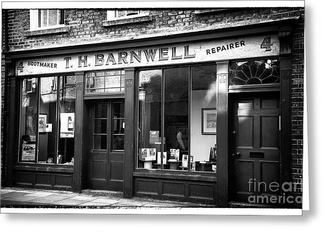 T Travel Greeting Cards - T.H. Barnwell Greeting Card by John Rizzuto