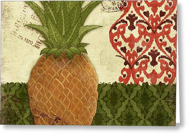 Thai Greeting Cards - Thai Pineapple II Greeting Card by Paul Brent