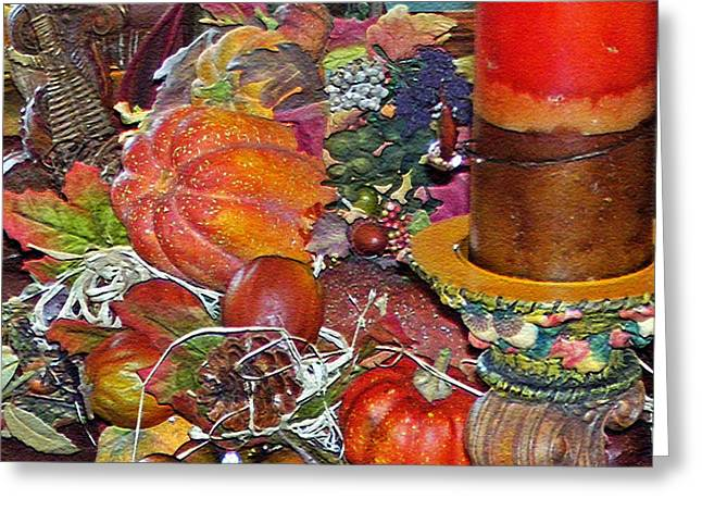 Seize The Moment Greeting Cards - Thanksgiving Remembrance Greeting Card by Lydia Holly