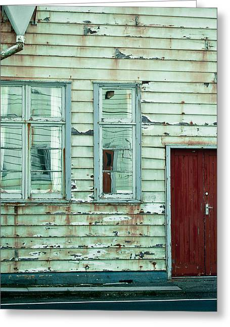Broken Windows Greeting Cards - That Abandoned Feeling Greeting Card by Constance Fein Harding